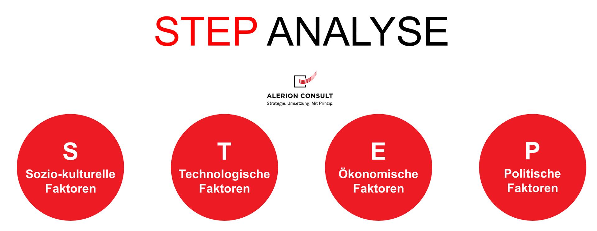 STEP Analyse - Strategieentwicklung Alerion