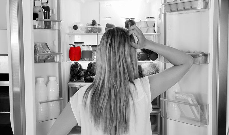 Homeoffice und Arbeiten in der Küche
