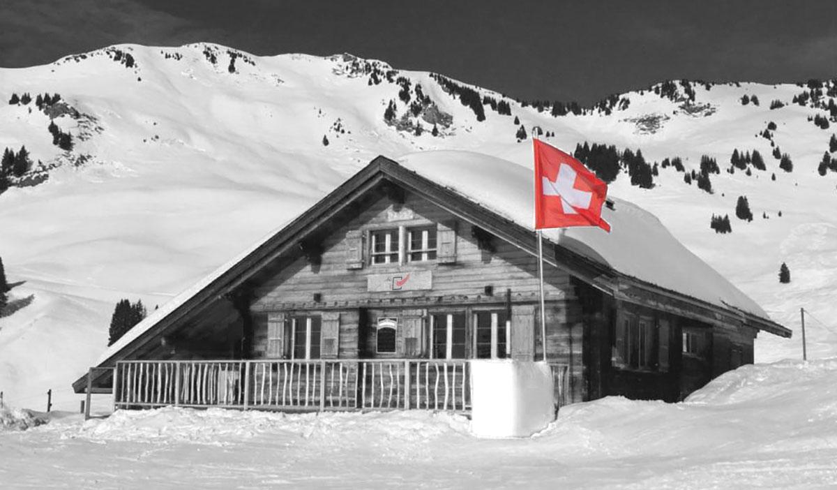 Skihütte trotz Corona