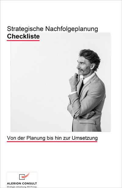 Nachfolgeplanung Checkliste